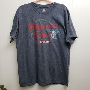 Genuine Merchandise Tops - Minnesota Twins Short Sleeve Tee Sz L